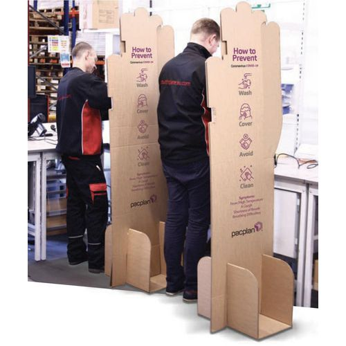 Workstation protection dividers - pack 10