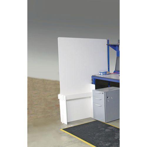 Workstation protection divider