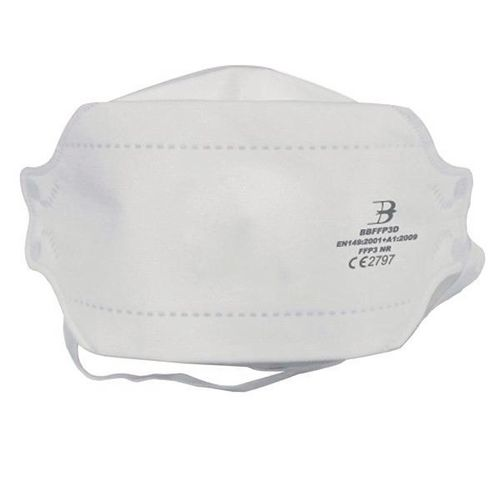 FFP3 Fold flat disposable face mask, 20 pack
