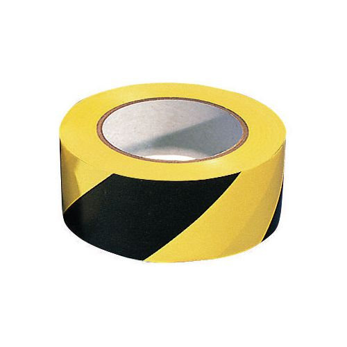 Line marking hazard floor tape
