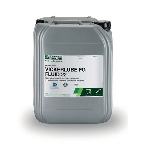 Vickerlube FG Fluid – ISO VG 22 (20 litre)
