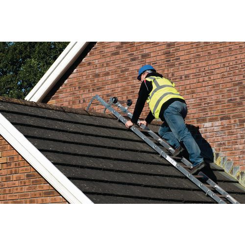Trade roof ladders - double section