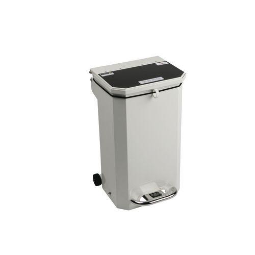Flame retardant waste bins