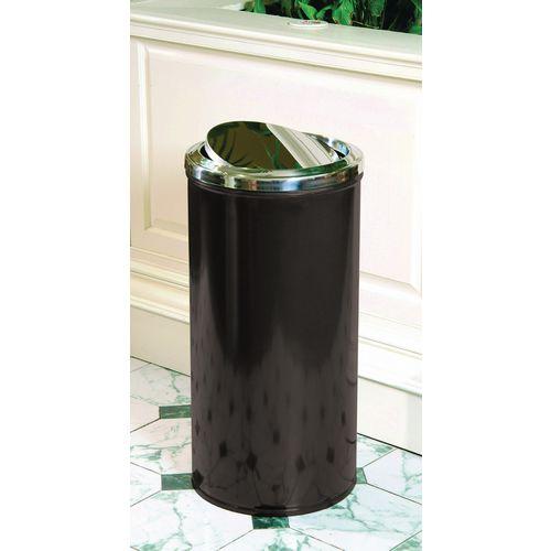 Fire retardant rubbish bins