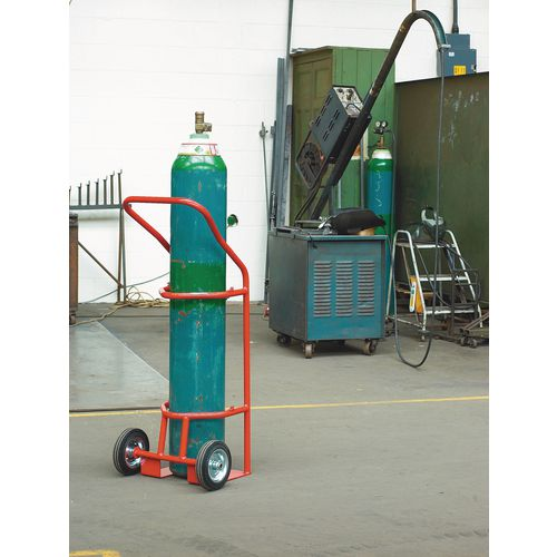 Large oxygen cylinder carriers