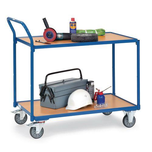 Fetra laminate shelf workshop trolley