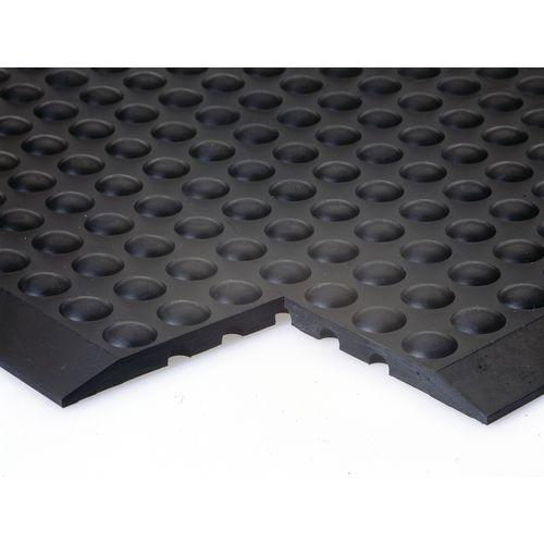 Anti-fatigue rubber bubblemat
