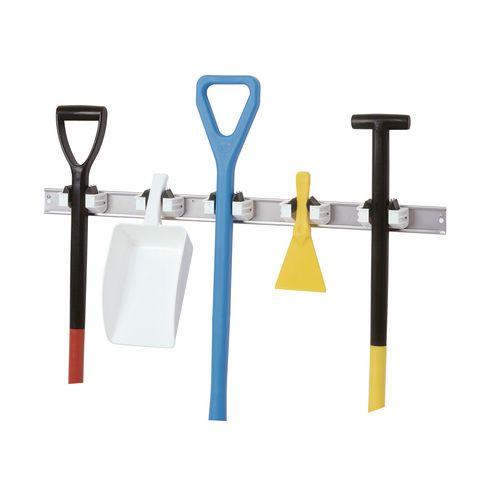 Universal holder - Hygiene (stainless steel/polystyrene)