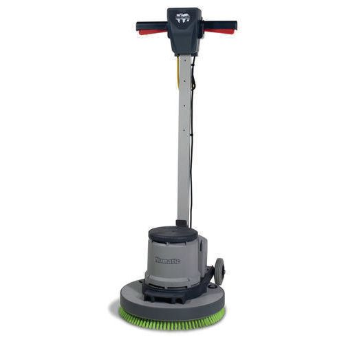 Rotary machine floor polisher