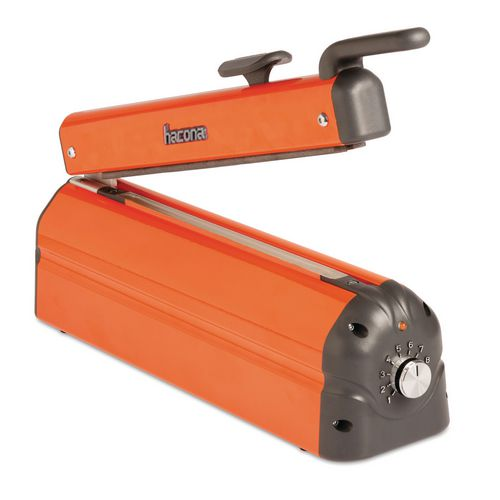 Impulse heat sealers and cutters