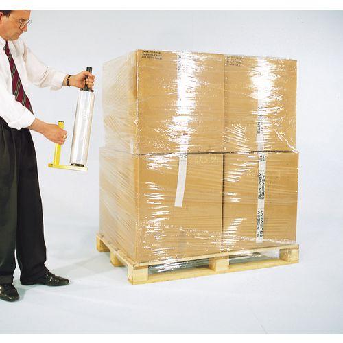 Clear cast polyethylene stretch wrap - 1 carton (6 rolls)