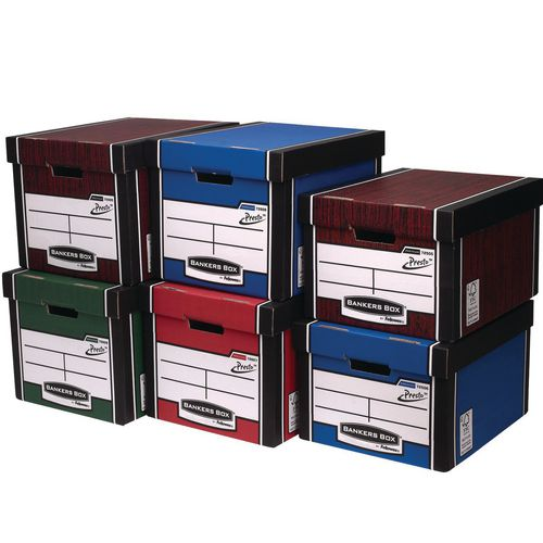Premium archive storage boxes - pack of 10