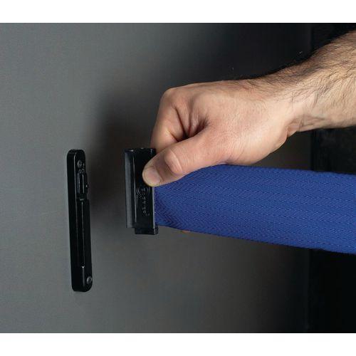 Tensabarrier® Wall mounted premium retractable barriers