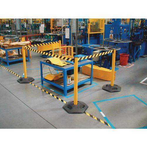 Tensabarrier® Heavy duty facility retractable barrier
