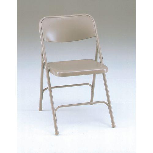 Steel folding chairs