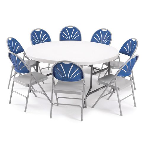 Comfort back folding chairs