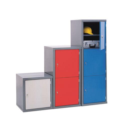 Heavy duty extra large capacity cube lockers