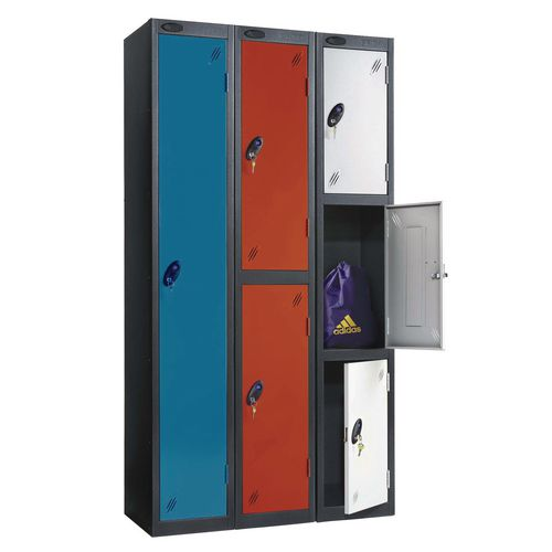 Probe black body industrial lockers