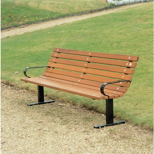 Wooden bench seats