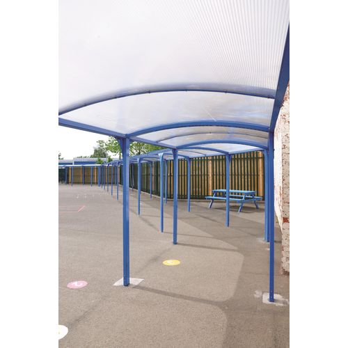Modular free standing walkway - Extension units