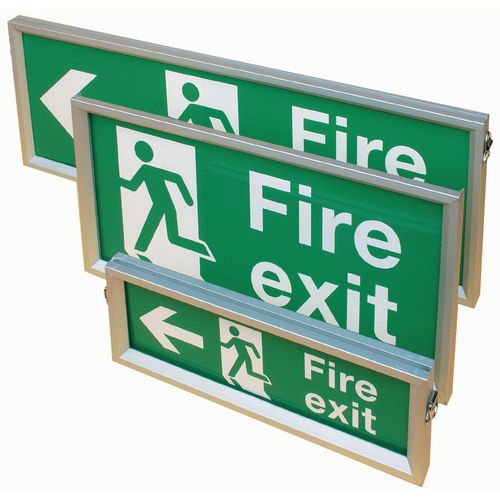 Suspended & wall mounted sign frames