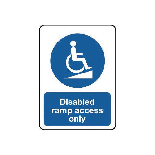 Disabled access & parking signs
