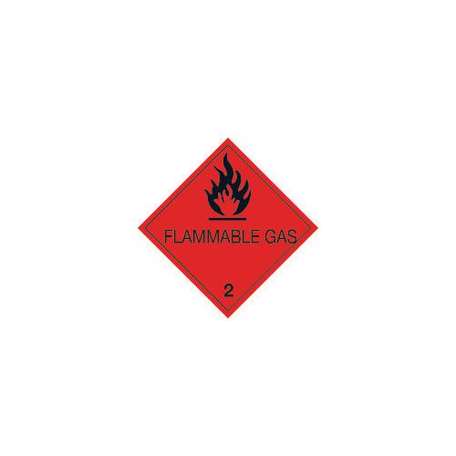 Adr, rid, idgm, iata & icao (labels with class numbers) - Flammable gas