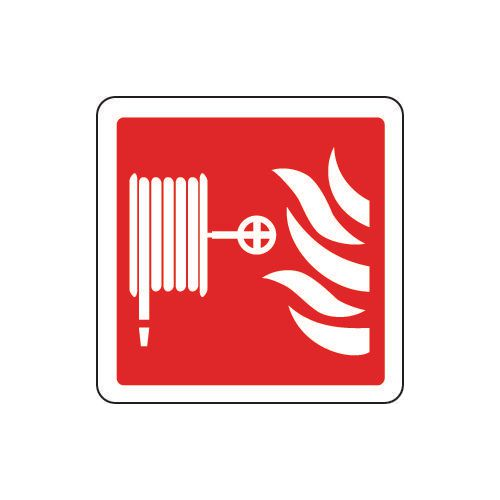 Fire hose reel pictorial sign