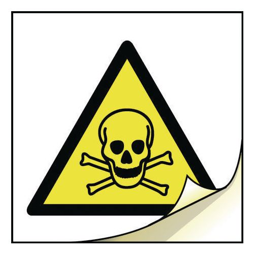 General safety labels - Toxic