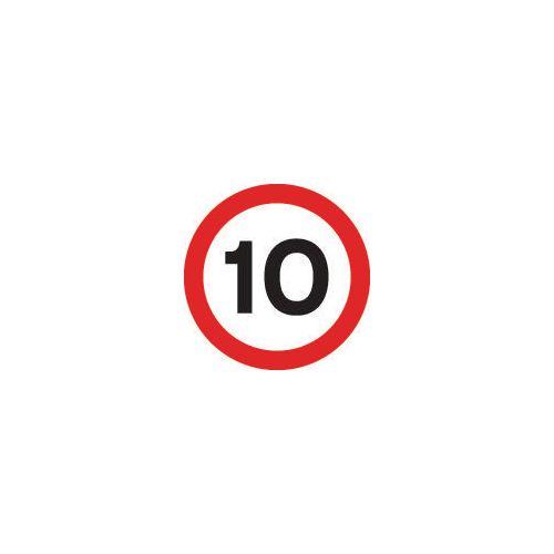 Road traffic signs - 10 MPH