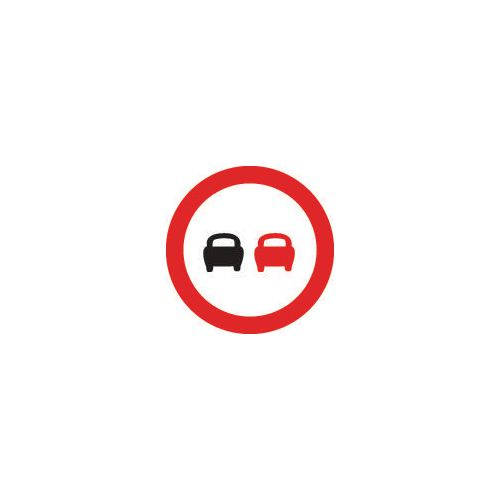 Road traffic signs - No overtaking