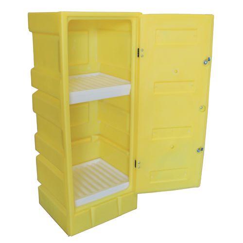 Poly acid storage cabinets