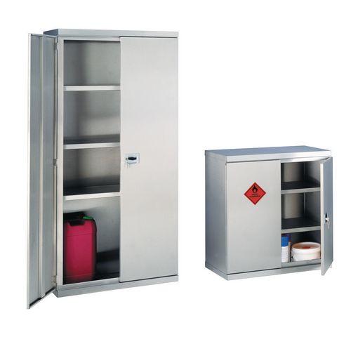 Stainless steel hazardous substance storage