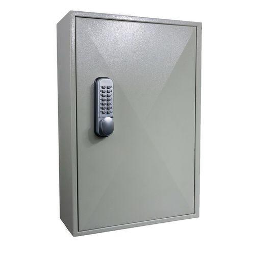 Mechanical push button digital key cabinets