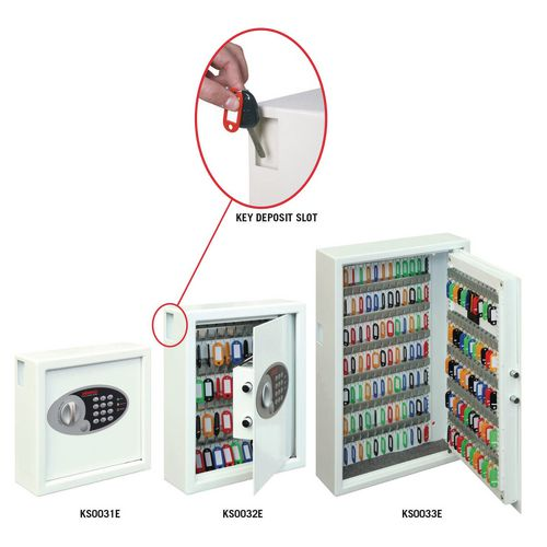 Electronic key cabinet safe