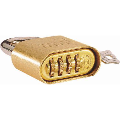 51mm Brass combination padlocks