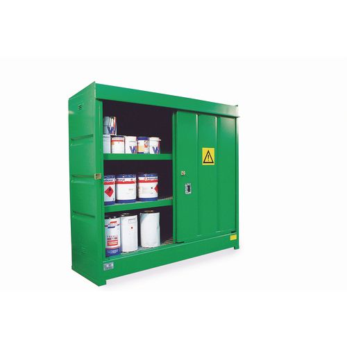 Drum storage container store