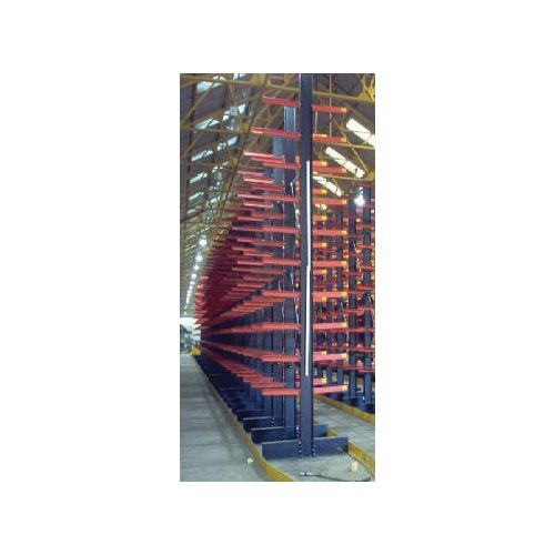 Heavy duty bolted cantilever racking