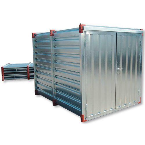 Temporary storage units
