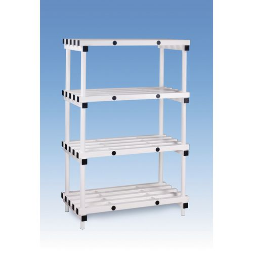 Plastic shelving - up to 360kg