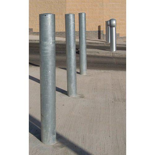 Galvanised steel bollard