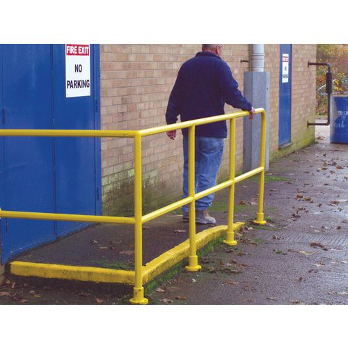 PVC coated handrail system - Tubular rails