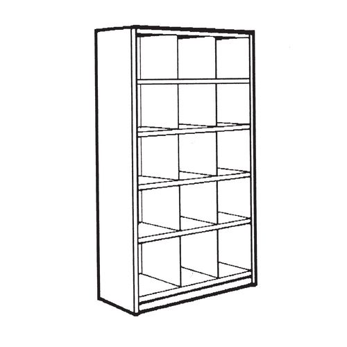 Bin unit - 15 Compartments