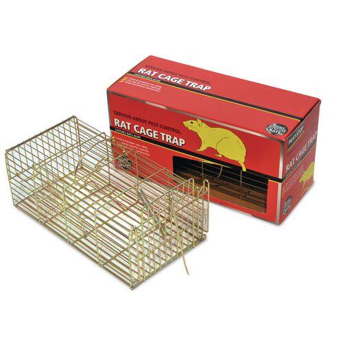 Humane rat capture cages