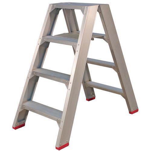 Heavy duty aluminium step stool