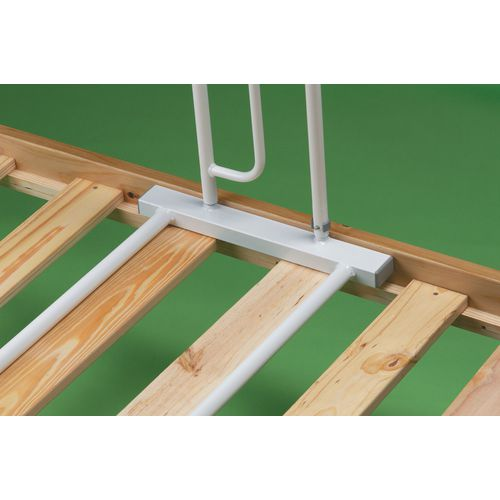 Slatted style bed grab rail