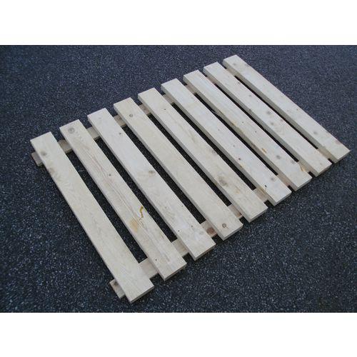 Shelf decks for pallet racking