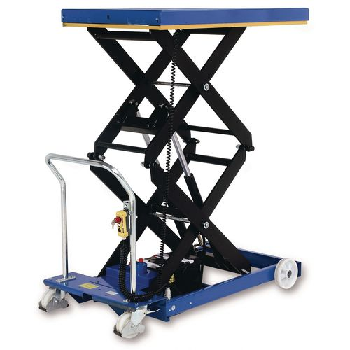 Mobile lift tables - Battery operated mobile lift tables