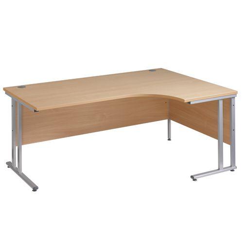 Traditional ergonomic desks
