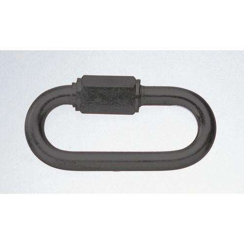 Galvanised steel connecting link - plastic coated